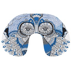 Pattern Monkey New Year S Eve Travel Neck Pillows