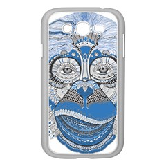 Pattern Monkey New Year S Eve Samsung Galaxy Grand DUOS I9082 Case (White)