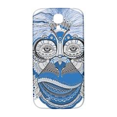 Pattern Monkey New Year S Eve Samsung Galaxy S4 I9500/i9505  Hardshell Back Case