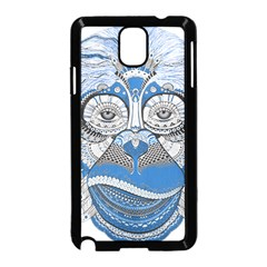 Pattern Monkey New Year S Eve Samsung Galaxy Note 3 Neo Hardshell Case (Black)