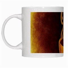 Coffee Drink Abstract White Mugs