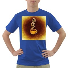 Coffee Drink Abstract Dark T Shirt