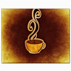 Coffee Drink Abstract Canvas 8  X 10