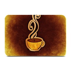 Coffee Drink Abstract Plate Mats