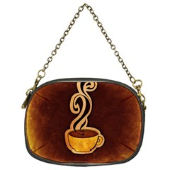 Coffee Drink Abstract Chain Purses (one Side)