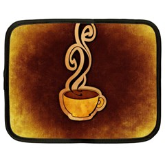 Coffee Drink Abstract Netbook Case (xxl)