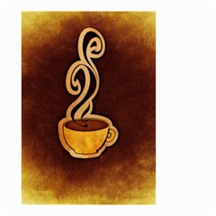 Coffee Drink Abstract Small Garden Flag (two Sides)