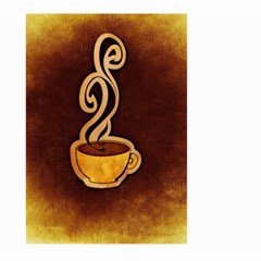 Coffee Drink Abstract Large Garden Flag (Two Sides)