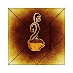 Coffee Drink Abstract Acrylic Tangram Puzzle (6  X 6 )