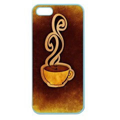 Coffee Drink Abstract Apple Seamless iPhone 5 Case (Color)