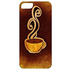 Coffee Drink Abstract Apple iPhone 5 Classic Hardshell Case
