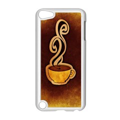 Coffee Drink Abstract Apple iPod Touch 5 Case (White)