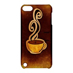 Coffee Drink Abstract Apple iPod Touch 5 Hardshell Case with Stand