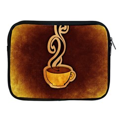 Coffee Drink Abstract Apple iPad 2/3/4 Zipper Cases