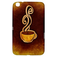 Coffee Drink Abstract Samsung Galaxy Tab 3 (8 ) T3100 Hardshell Case