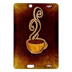 Coffee Drink Abstract Amazon Kindle Fire HD (2013) Hardshell Case