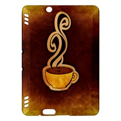 Coffee Drink Abstract Kindle Fire HDX Hardshell Case