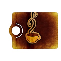 Coffee Drink Abstract Kindle Fire HD (2013) Flip 360 Case