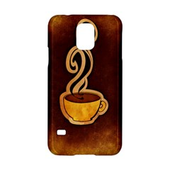 Coffee Drink Abstract Samsung Galaxy S5 Hardshell Case
