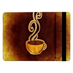 Coffee Drink Abstract Samsung Galaxy Tab Pro 12.2  Flip Case