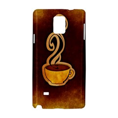 Coffee Drink Abstract Samsung Galaxy Note 4 Hardshell Case