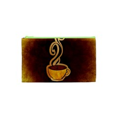 Coffee Drink Abstract Cosmetic Bag (xs)