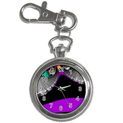 Fractal Background For Scrapbooking Or Other Key Chain Watches
