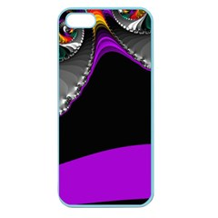 Fractal Background For Scrapbooking Or Other Apple Seamless iPhone 5 Case (Color)