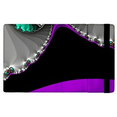 Fractal Background For Scrapbooking Or Other Apple iPad 3/4 Flip Case