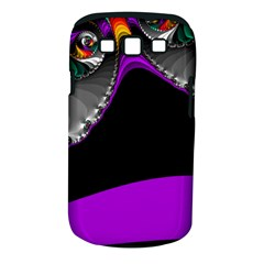 Fractal Background For Scrapbooking Or Other Samsung Galaxy S III Classic Hardshell Case (PC+Silicone)