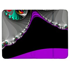 Fractal Background For Scrapbooking Or Other Samsung Galaxy Tab 7  P1000 Flip Case