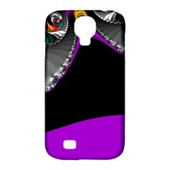 Fractal Background For Scrapbooking Or Other Samsung Galaxy S4 Classic Hardshell Case (PC+Silicone)