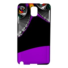 Fractal Background For Scrapbooking Or Other Samsung Galaxy Note 3 N9005 Hardshell Case