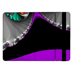 Fractal Background For Scrapbooking Or Other Samsung Galaxy Tab Pro 12.2  Flip Case