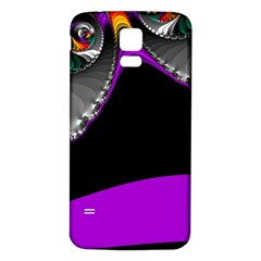 Fractal Background For Scrapbooking Or Other Samsung Galaxy S5 Back Case (White)