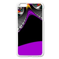 Fractal Background For Scrapbooking Or Other Apple iPhone 6 Plus/6S Plus Enamel White Case