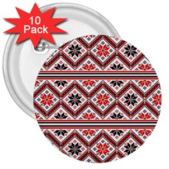 Folklore 3  Buttons (10 pack)