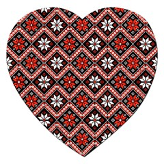 Folklore Jigsaw Puzzle (Heart)