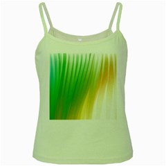 Folded Digitally Painted Abstract Paint Background Texture Green Spaghetti Tank
