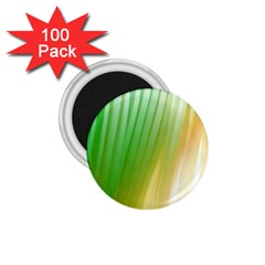 Folded Digitally Painted Abstract Paint Background Texture 1 75  Magnets (100 Pack)
