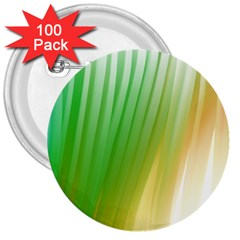 Folded Digitally Painted Abstract Paint Background Texture 3  Buttons (100 pack)