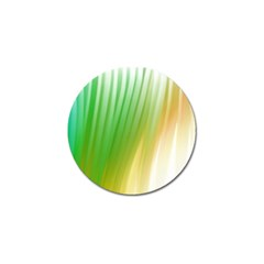 Folded Digitally Painted Abstract Paint Background Texture Golf Ball Marker (4 Pack)