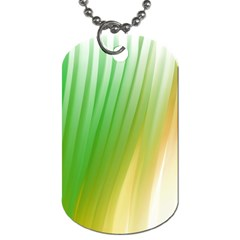 Folded Digitally Painted Abstract Paint Background Texture Dog Tag (Two Sides)