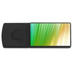 Folded Digitally Painted Abstract Paint Background Texture USB Flash Drive Rectangular (2 GB)