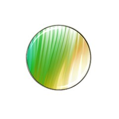 Folded Digitally Painted Abstract Paint Background Texture Hat Clip Ball Marker (10 Pack)