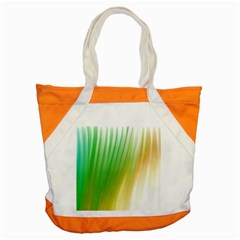 Folded Digitally Painted Abstract Paint Background Texture Accent Tote Bag