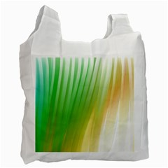 Folded Digitally Painted Abstract Paint Background Texture Recycle Bag (One Side)
