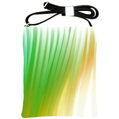Folded Digitally Painted Abstract Paint Background Texture Shoulder Sling Bags