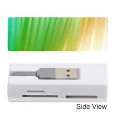 Folded Digitally Painted Abstract Paint Background Texture Memory Card Reader (stick)
