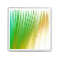 Folded Digitally Painted Abstract Paint Background Texture Memory Card Reader (square)